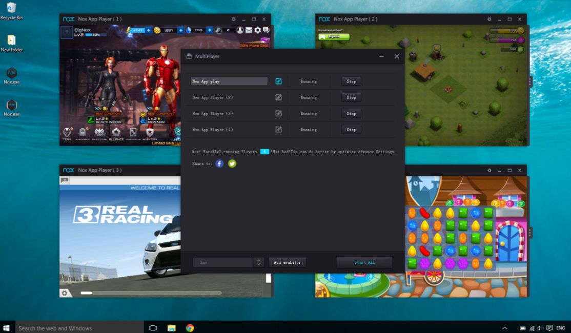 Latest Versions of Nox Player Android Emulator