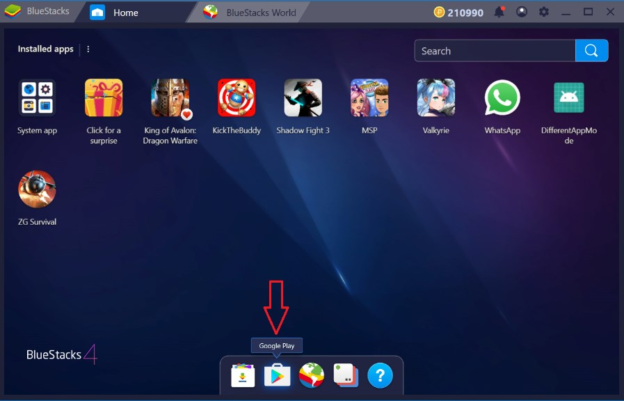 Bluestacks - Android Emulator