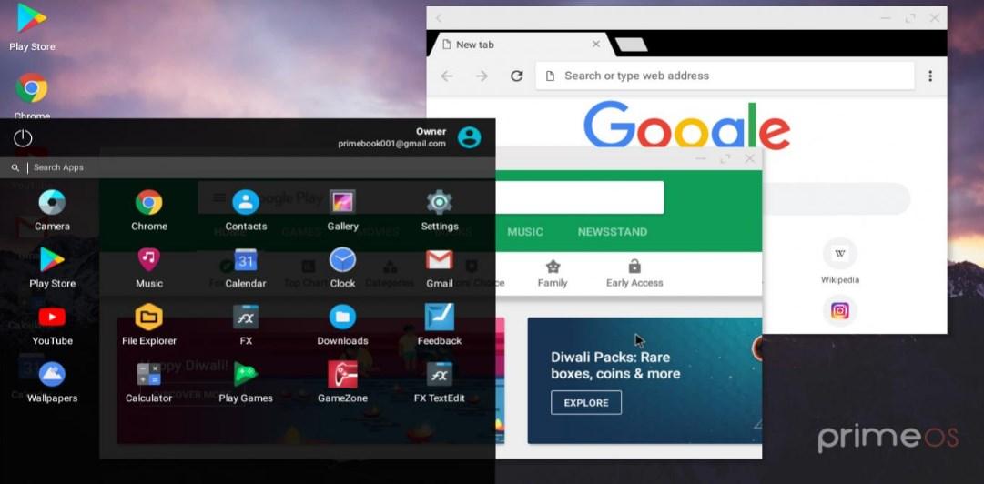 PrimeOS - Android Emulator