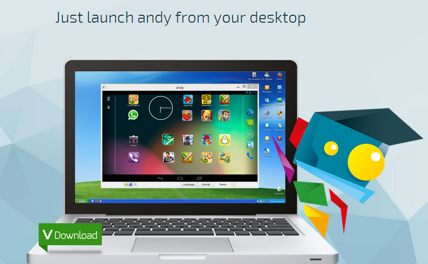Download Andy Android Emulator