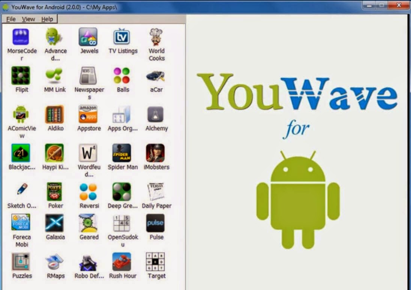Latest Versions of YouWave Android Emulator